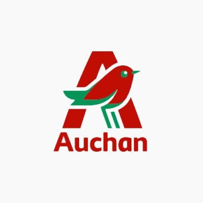 Baly Yarn Client Auchan Logo